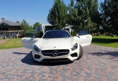 Прокат спорткара Mercedes AMG GT s в Киеве
