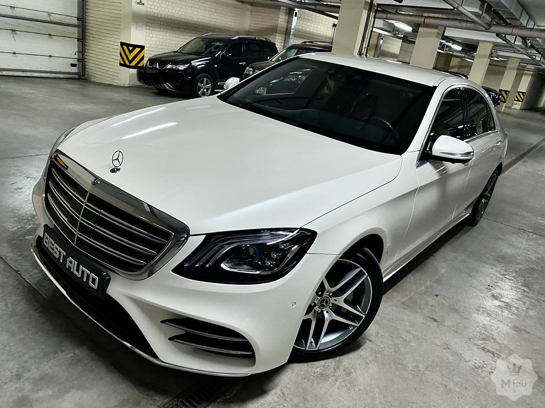Продажа Mercedes Benz S400d Long AMG 4Matic '2018 в Киеве ...