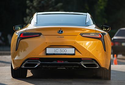 Продажа купе Lexus LC 500 Yellow Edition Sport+ '2019 в Днепре