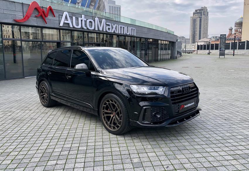 Продажа Audi SQ7 MTR 4.0 TDI Pale Design '2018 в Киеве