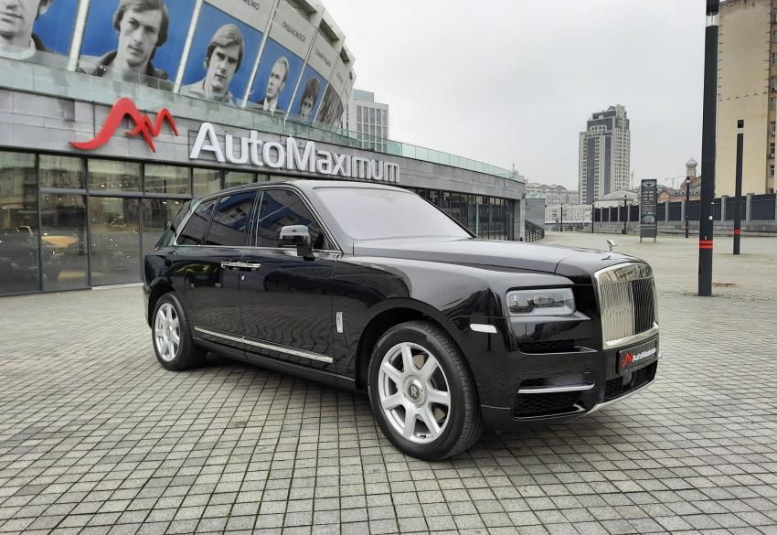 Продажа люксового внедорожника Rolls Royce Cullinan '2019 в Киеве