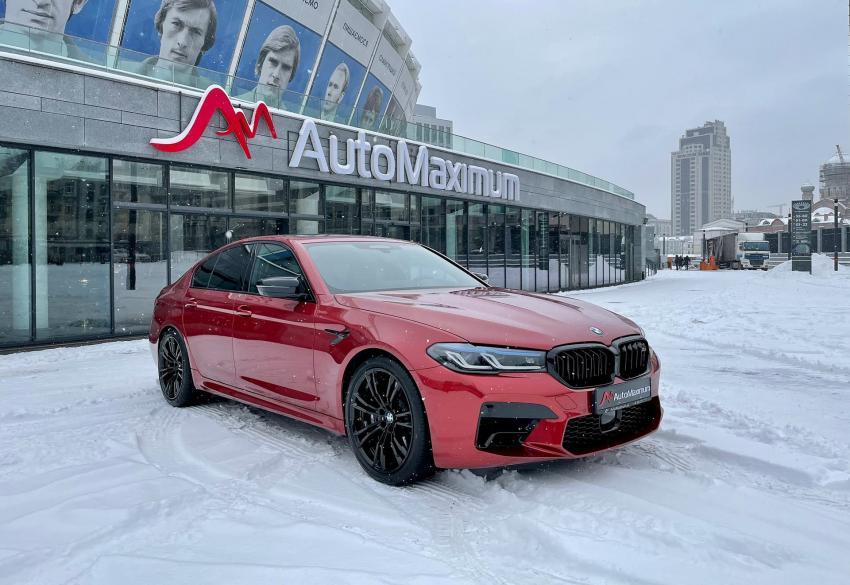 Продажа официальной BMW M5 Competition '2020 в Киеве