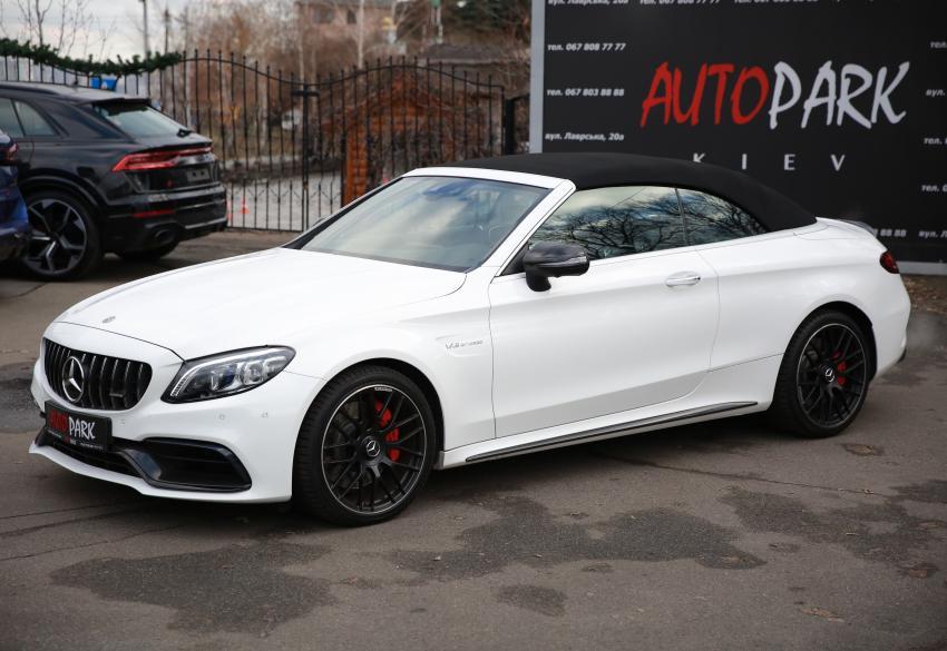 Продажа кабриолета Mercedes C 63 AMG S '2019 в Киеве