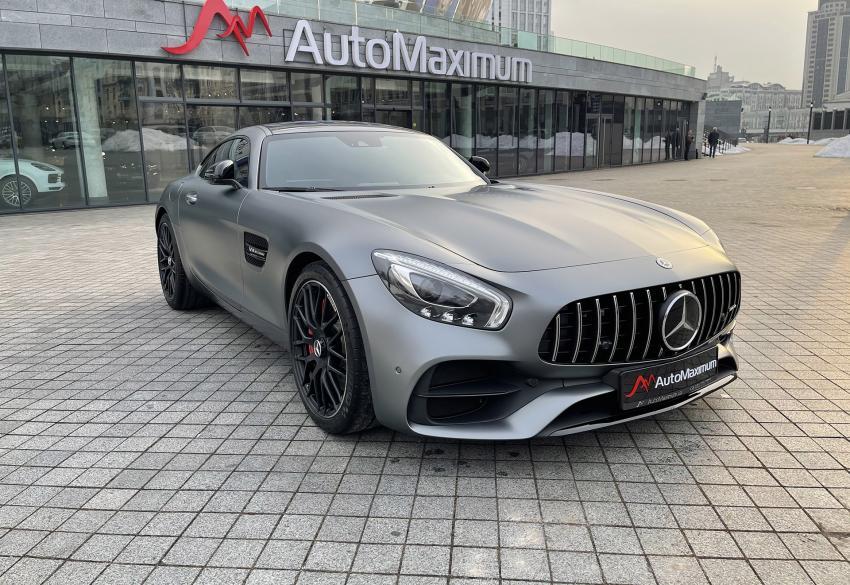 Продажа спортивного купе Mercedes AMG GTs '2016 в Киеве