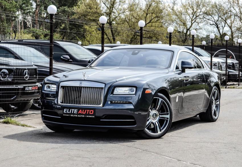 Продажа роскошного купе Rolls-Royce Wraith '2015 в Киеве