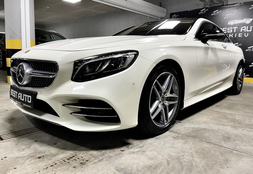 Продажа купе Mercedes Benz S 560 AMG Coupe '2018 в Киеве