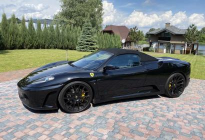 Прокат кабриолета Ferrari F430 Spider в Киеве
