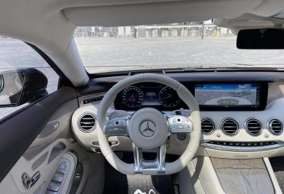 Продажа эксклюзивного купе Mercedes S 450 AMG Swarovski '2019 в Киеве
