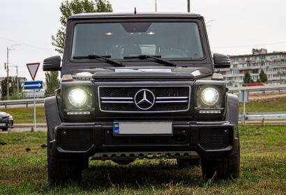 Прокат с водителем и без Mercedes-Benz G63 AMG (Кубик) '2016 в Киеве