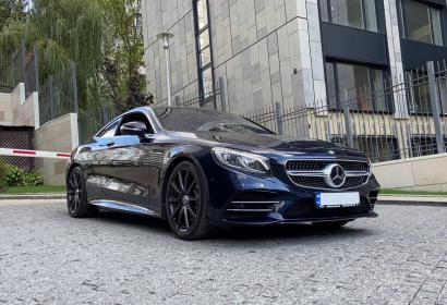 Прокат Mercedes-Benz S560 AMG Coupe '2019 в Киеве