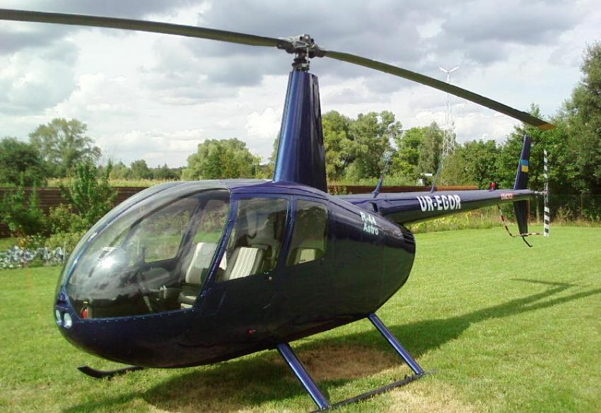 Чартерный перелет на вертолете Robinson R44 в Киеве