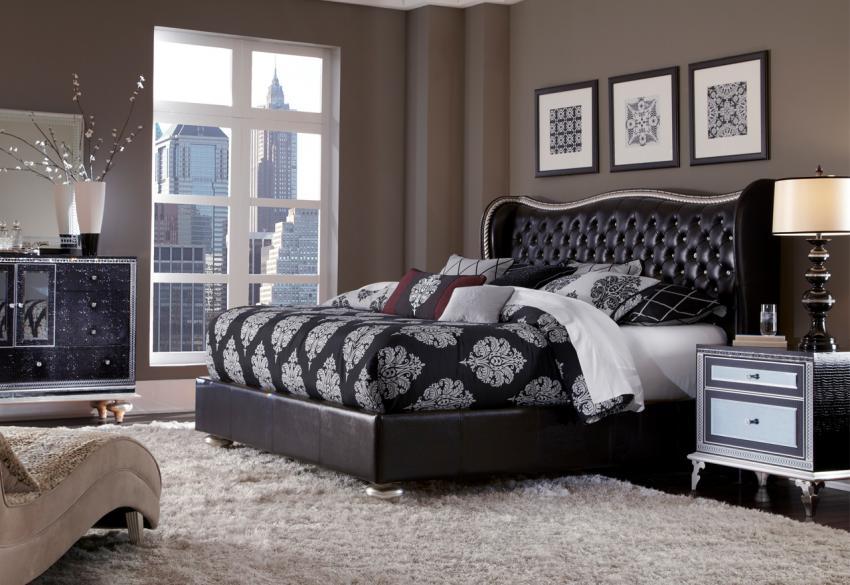 Кровать для спальни из коллекции Hollywood Swank Starry Night