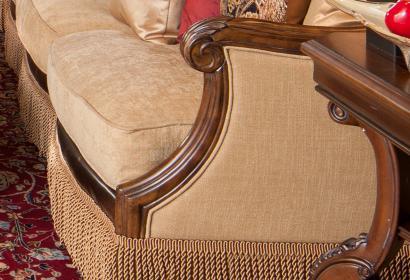 Диван угловой в стиле викторианской эпохи из коллекции Victoria Palace