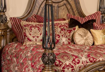 Кровать Ginger размером Queen из коллекции Eden's Paradise