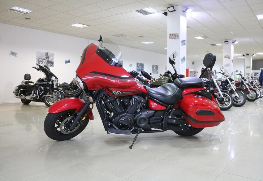 Продажа чоппера Yamaha Star V-Star XVS1300 Tourer '2015 в Киеве