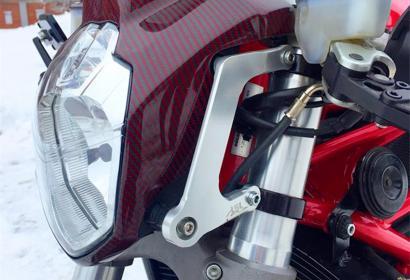 Продажа кастомбайка Ducati 999 от мастеров Iron Moto в Харькове