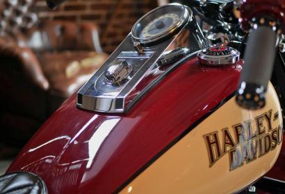 Продажа кастомного Harley Davidson Softail Deluxe Morgan в Киеве