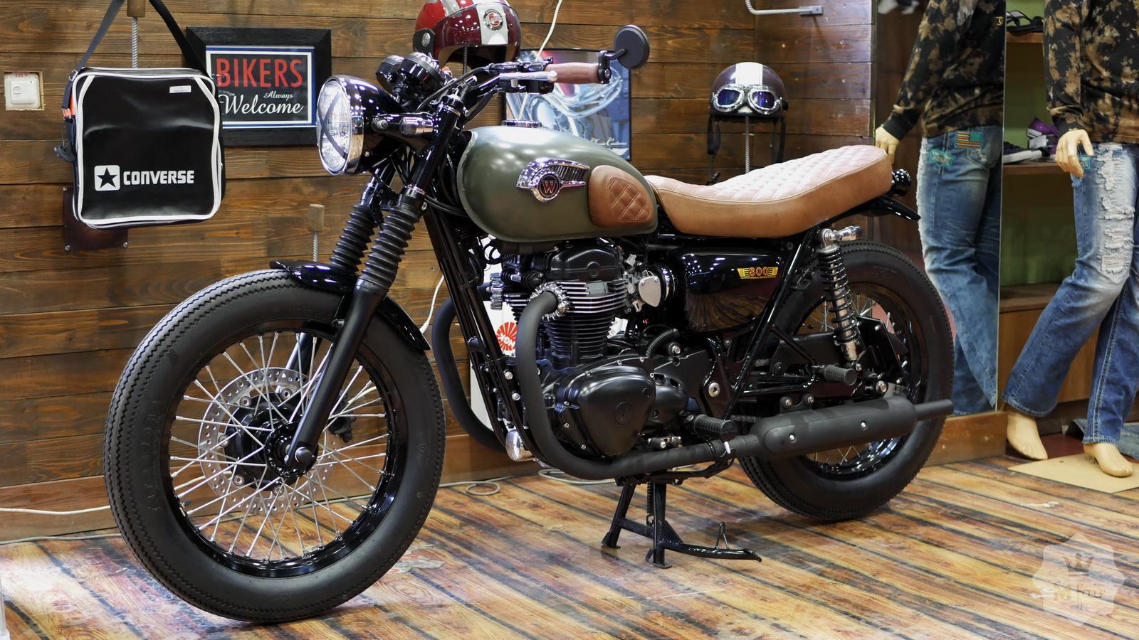 продажа классического Kawasaki W800 Special Edition 2015 в киеве на
