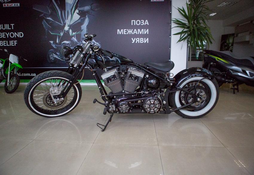 Продажа уникального кастом байка Big Gun в Киеве