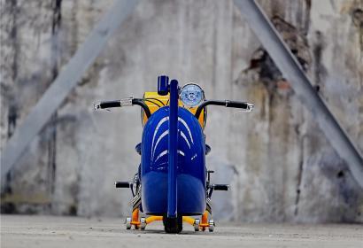 Продажа кастом байка на базе Иж Ю5К Geometric Iron Moto '2018 в Харькове