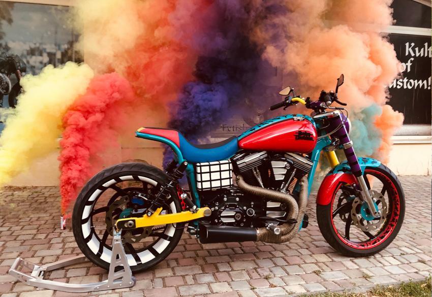 Продажа кастомного проекта Harley Davidson Dyna Street Bob '2015 в Харькове