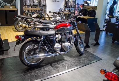 Продажа нового классического Triumph Bonneville T120 '2021 в Киеве