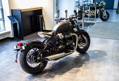 Продажа классического Triumph Bonneville Bobber '2021 в Киеве