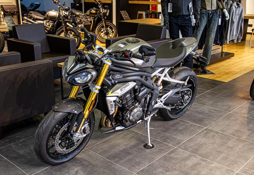 Продажа нового спортивного Triumph Speed Triple 1200 RS '2021 в Киеве