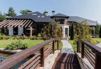 Продажа современного дома De-Luxe класса под Киевом