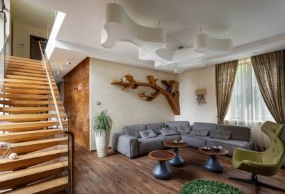 Продажа эксклюзивного дома в лесу в Конча-Заспе под Киевом
