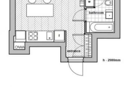 Продажа студийной квартиры в ЖК Централ Парк на Печерске