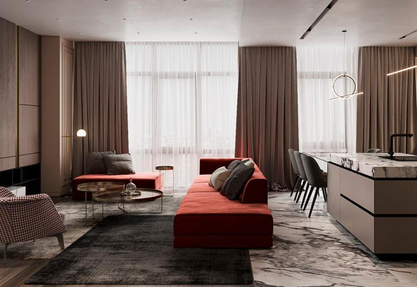 Продажа 4х-комнатной квартиры в Park Avenue VIP в Киеве
