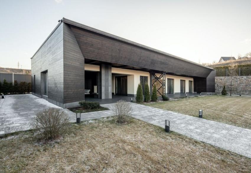 Продажа загородного дома Hi-tech стиле в коттеджном городке «Иванковичи»