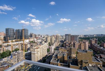 Аренда 3х этажного пентхауса с террасой в центре Киева