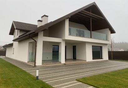 Продажа современного дома с террасой под Киевом в с. Колонщина