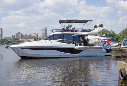 Аренда Galeon 460 Fly в Киеве