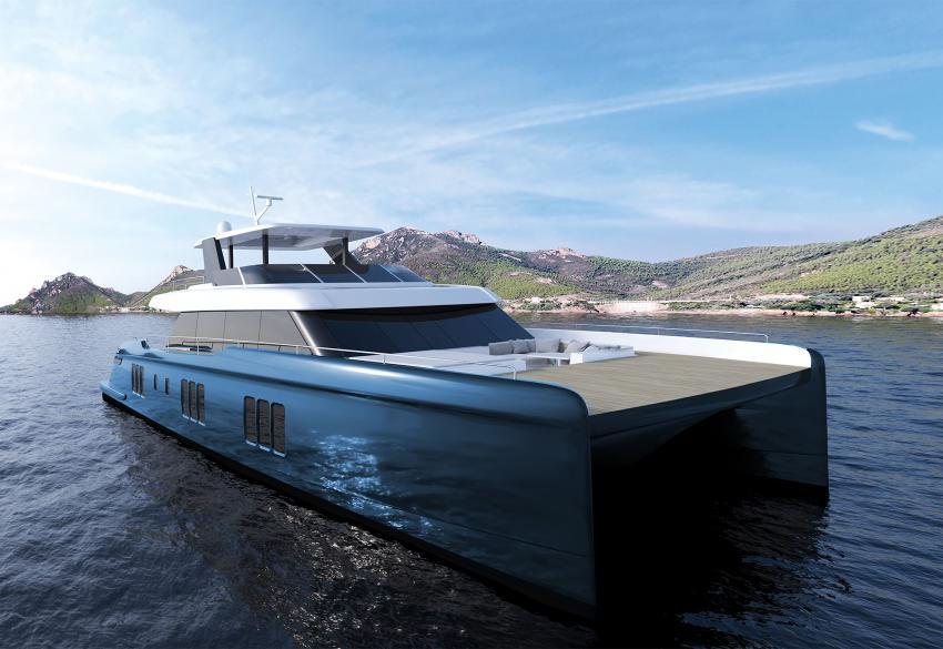 Продажа моторной яхты 70 Sunreef Power в Украине